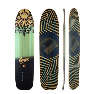 Rayne Longboards Bromance Deck in Deelite Construction