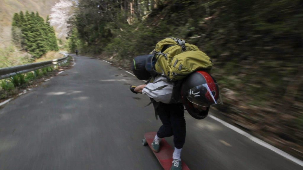 rayne japayne skyline tour 2016 japan longboard downhill skateboard