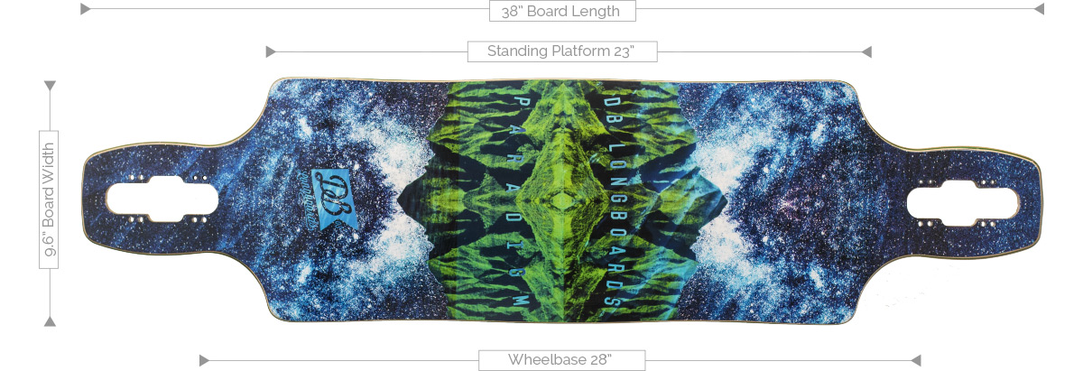 DB Longboards Paradigm 38 Deck Specifications
