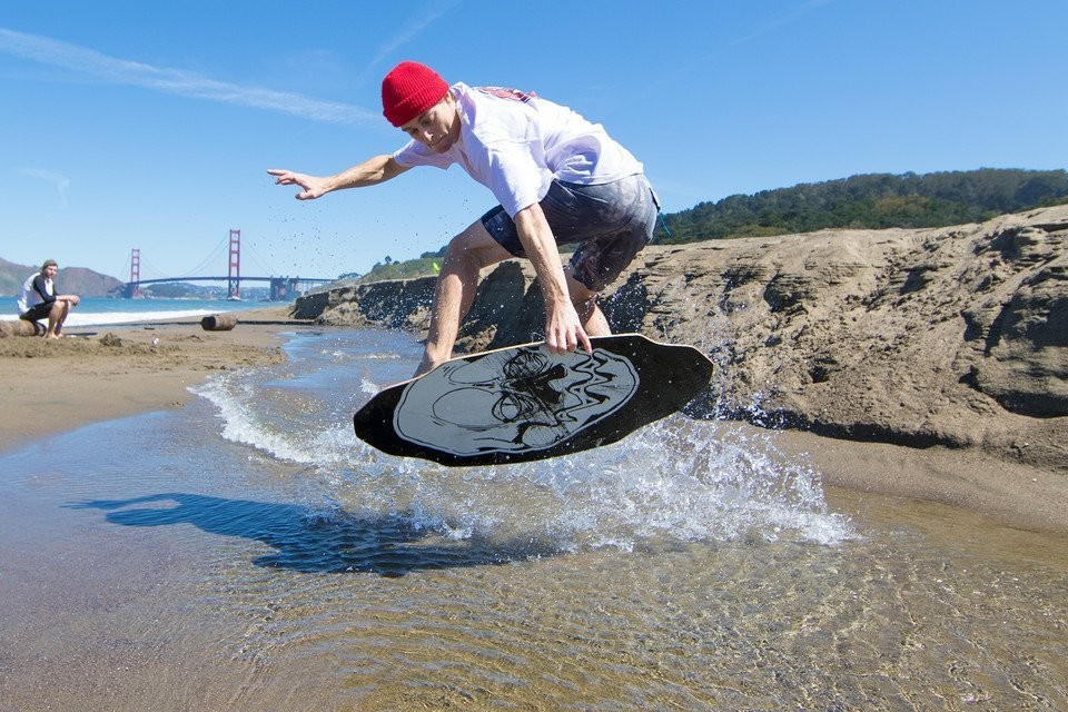 how to make a wooden skimboard