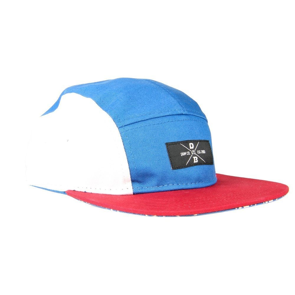 DB 5 Panel Hat - Red White and Blue  badb17ae978f