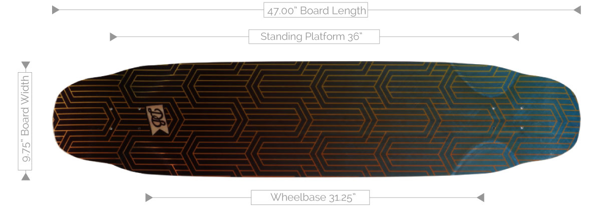 DB Longboards Dance Floor 47 Flex 1 Deck Specifications