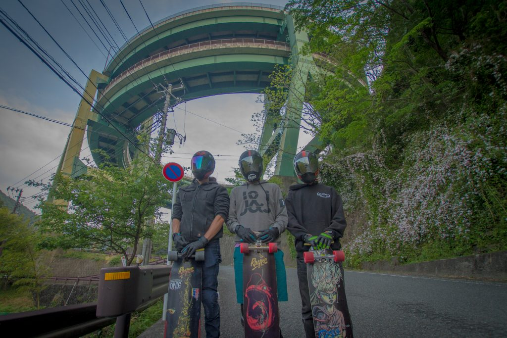 rayne skylien tour japan japayne longboard downhill skateboard adventure